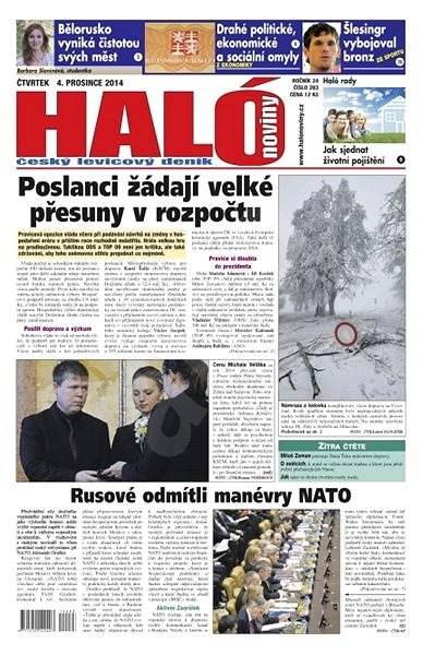 Haló noviny - 04_12_2014 - Elektronické noviny
