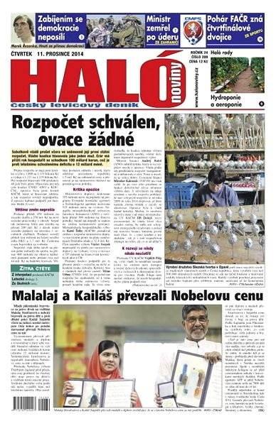 Haló noviny - 11_12_2014 - Elektronické noviny