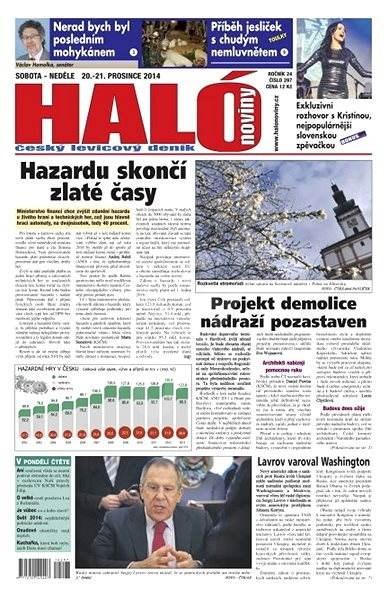 Haló noviny - 20_12_2014 - Elektronické noviny
