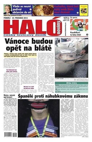 Haló noviny - 22_12_2014 - Elektronické noviny