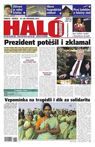 Haló noviny - 27_12_2014 - Elektronické noviny