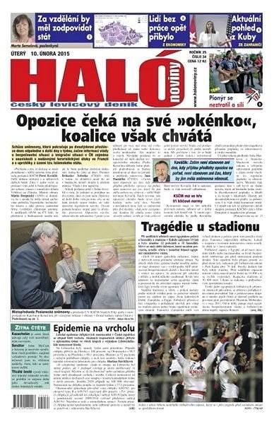 Haló noviny - 10_02_2015 - Elektronické noviny