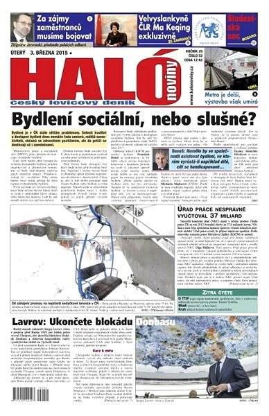 Haló noviny - 03_03_2015 - Elektronické noviny