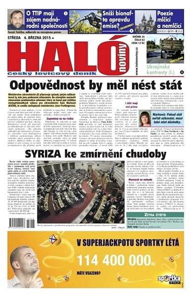 Haló noviny - 04_03_2015 - Elektronické noviny