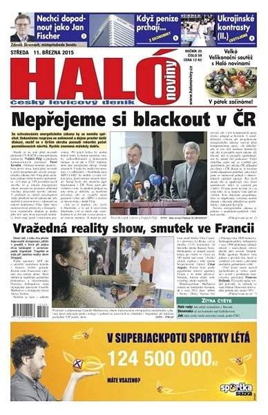 Haló noviny - 11_03_2015 - Elektronické noviny
