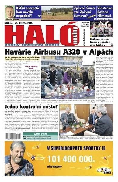 Haló noviny - 25_03_2015 - Elektronické noviny