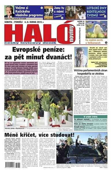 Haló noviny - 04_04_2015 - Elektronické noviny