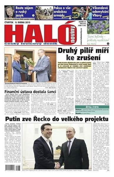 Haló noviny - 09_04_2015 - Elektronické noviny