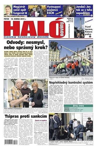 Haló noviny - 10_04_2015 - Elektronické noviny