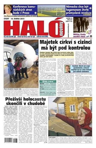 Haló noviny - 14_04_2015 - Elektronické noviny