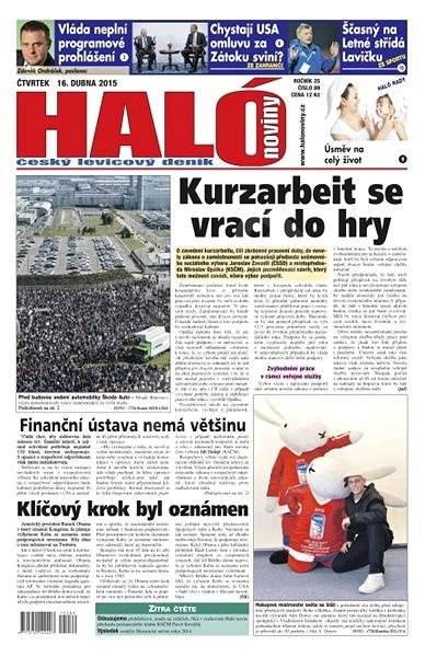 Haló noviny - 16_04_2015 - Elektronické noviny