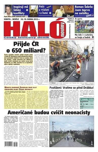 Haló noviny - 18_04_2015 - Elektronické noviny