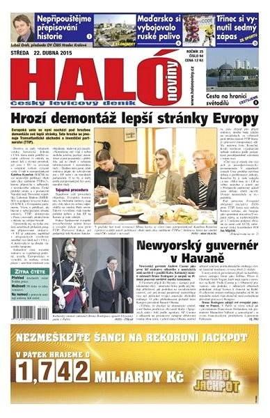 Haló noviny - 22_04_2015 - Elektronické noviny