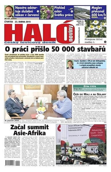 Haló noviny - 23_04_2015 - Elektronické noviny