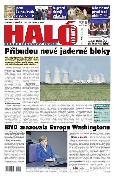 Haló noviny - 25_04_2015 - Elektronické noviny