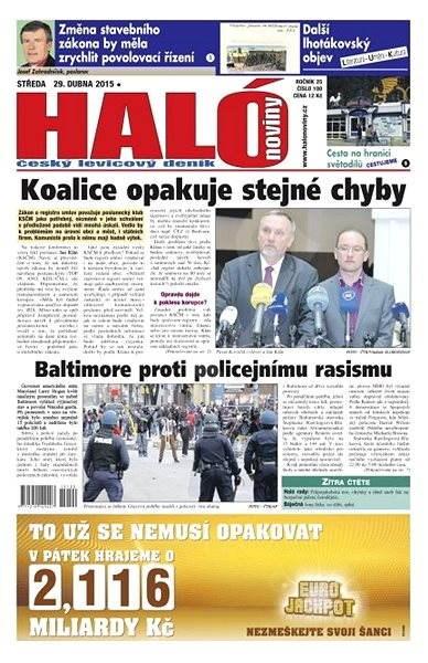 Haló noviny - 29_04_2015 - Elektronické noviny