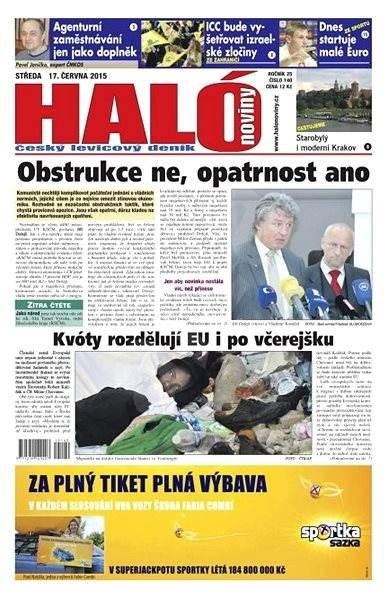Haló noviny - 17_06_2015 - Elektronické noviny