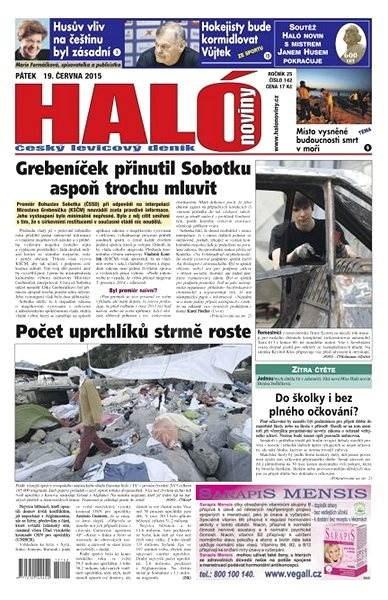 Haló noviny - 19_06_2015 - Elektronické noviny