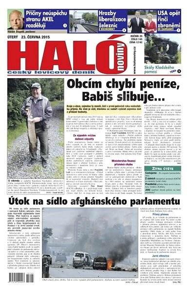 Haló noviny - 23_06_2015 - Elektronické noviny