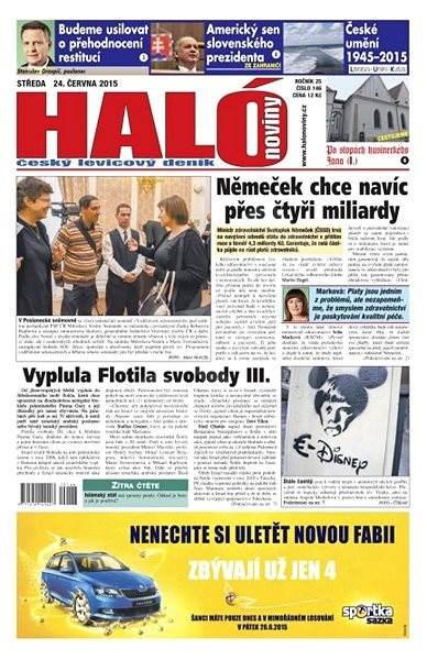 Haló noviny - 24_06_2015 - Elektronické noviny