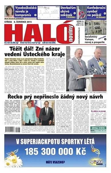 Haló noviny - 08_07_2015 - Elektronické noviny