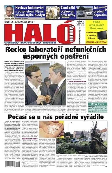 Haló noviny - 09_07_2015 - Elektronické noviny