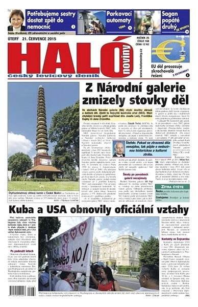Haló noviny - 21_07_2015 - Elektronické noviny