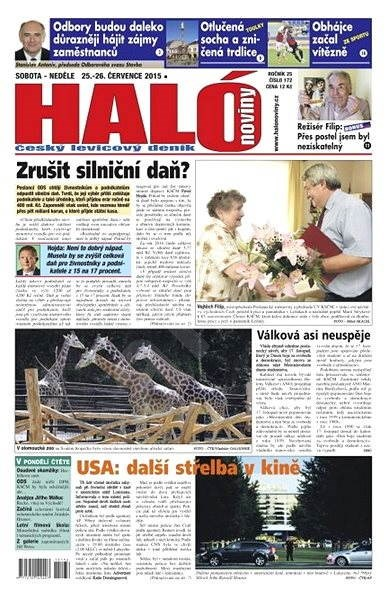 Haló noviny - 25_07_2015 - Elektronické noviny