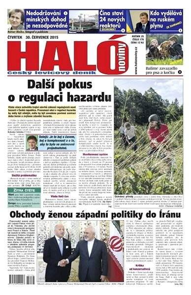 Haló noviny - 30_07_2015 - Elektronické noviny