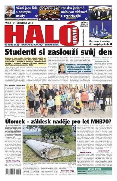 Haló noviny - 31_07_2015 - Elektronické noviny