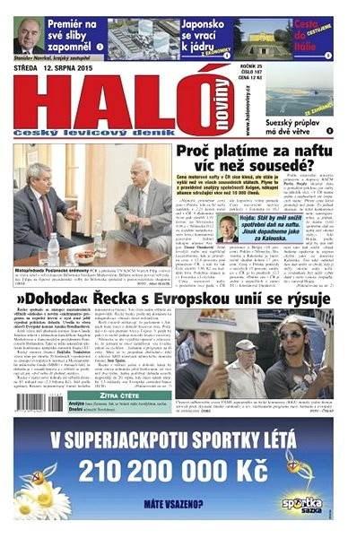 Haló noviny - 12_08_2015 - Elektronické noviny