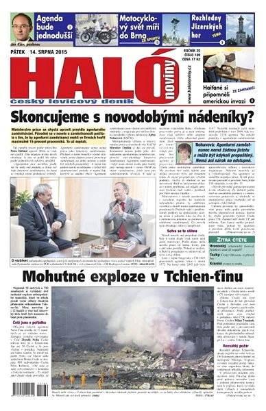 Haló noviny - 14_08_2015 - Elektronické noviny
