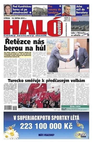 Haló noviny - 19_08_2015 - Elektronické noviny