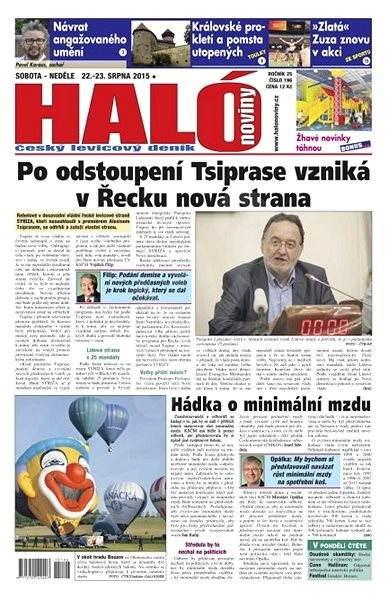 Haló noviny - 22_08_2015 - Elektronické noviny