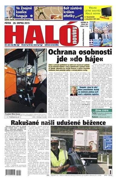 Haló noviny - 28_08_2015 - Elektronické noviny