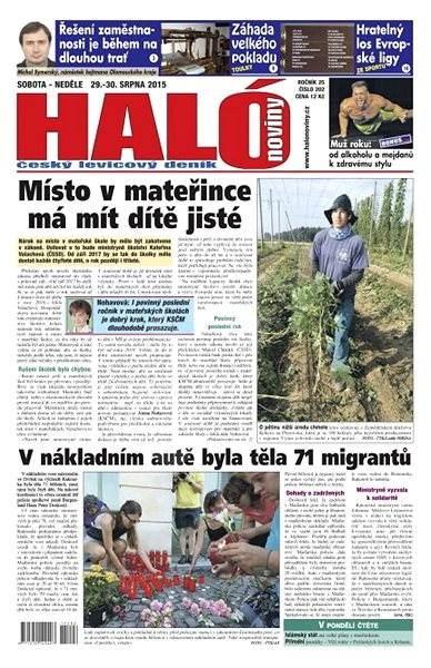Haló noviny - 29_08_2015 - Elektronické noviny