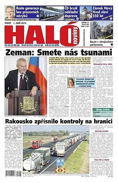 Haló noviny - 01_09_2015 - Elektronické noviny