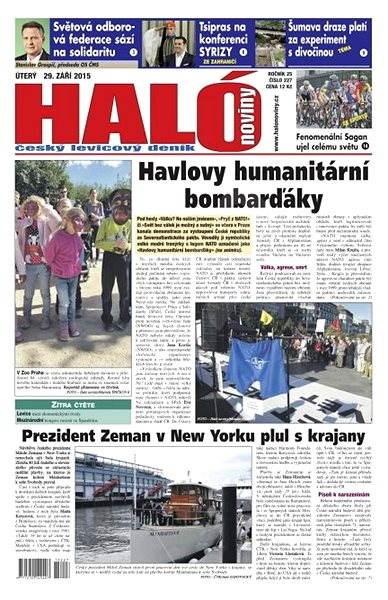 Haló noviny - 29_09_2015 - Elektronické noviny