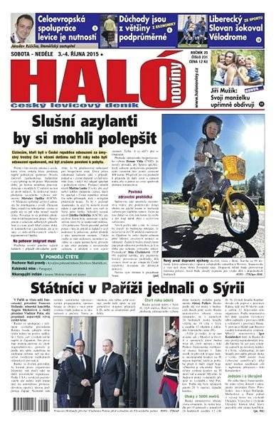 Haló noviny - 03_10_2015 - Elektronické noviny