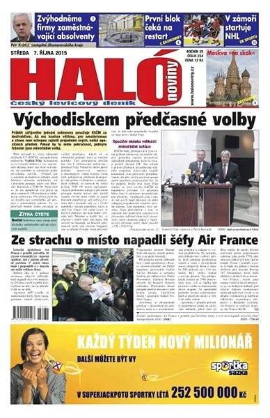 Haló noviny - 07_10_2015 - Elektronické noviny