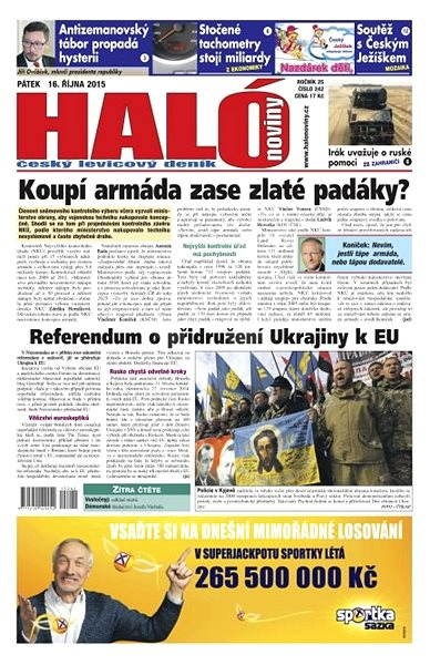 Haló noviny - 16_10_2015 - Elektronické noviny