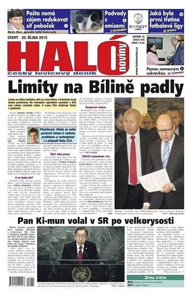 Haló noviny - 20_10_2015 - Elektronické noviny