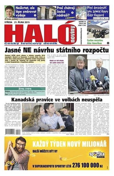 Haló noviny - 21_10_2015 - Elektronické noviny