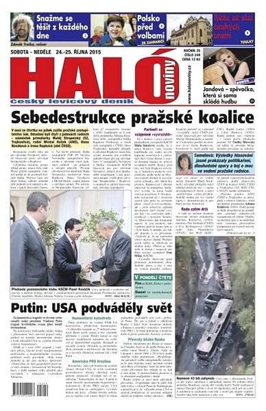 Haló noviny - 24_10_2015 - Elektronické noviny