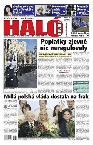 Haló noviny - 27_10_2015 - Elektronické noviny