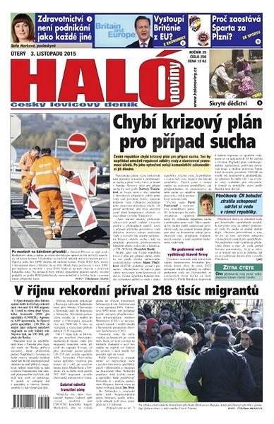 Haló noviny - 03_11_2015 - Elektronické noviny