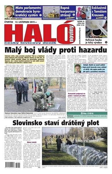 Haló noviny - 12_11_2015 - Elektronické noviny