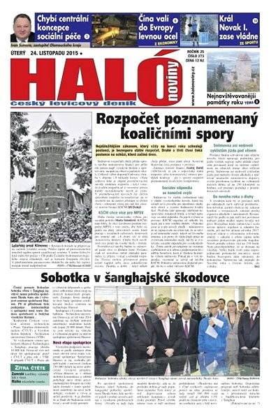 Haló noviny - 24_11_2015 - Elektronické noviny