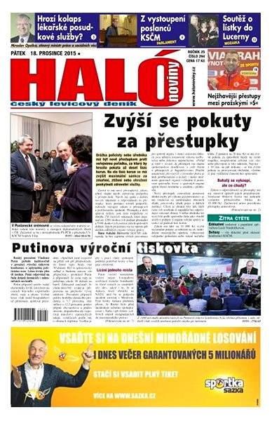 Haló noviny - 18_12_2015 - Elektronické noviny