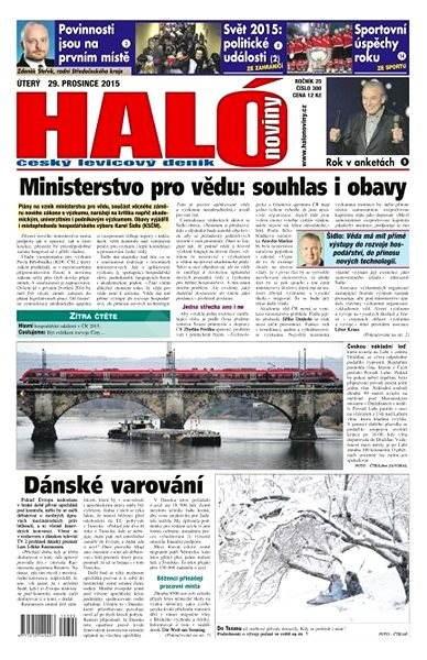 Haló noviny - 29_12_2015 - Elektronické noviny